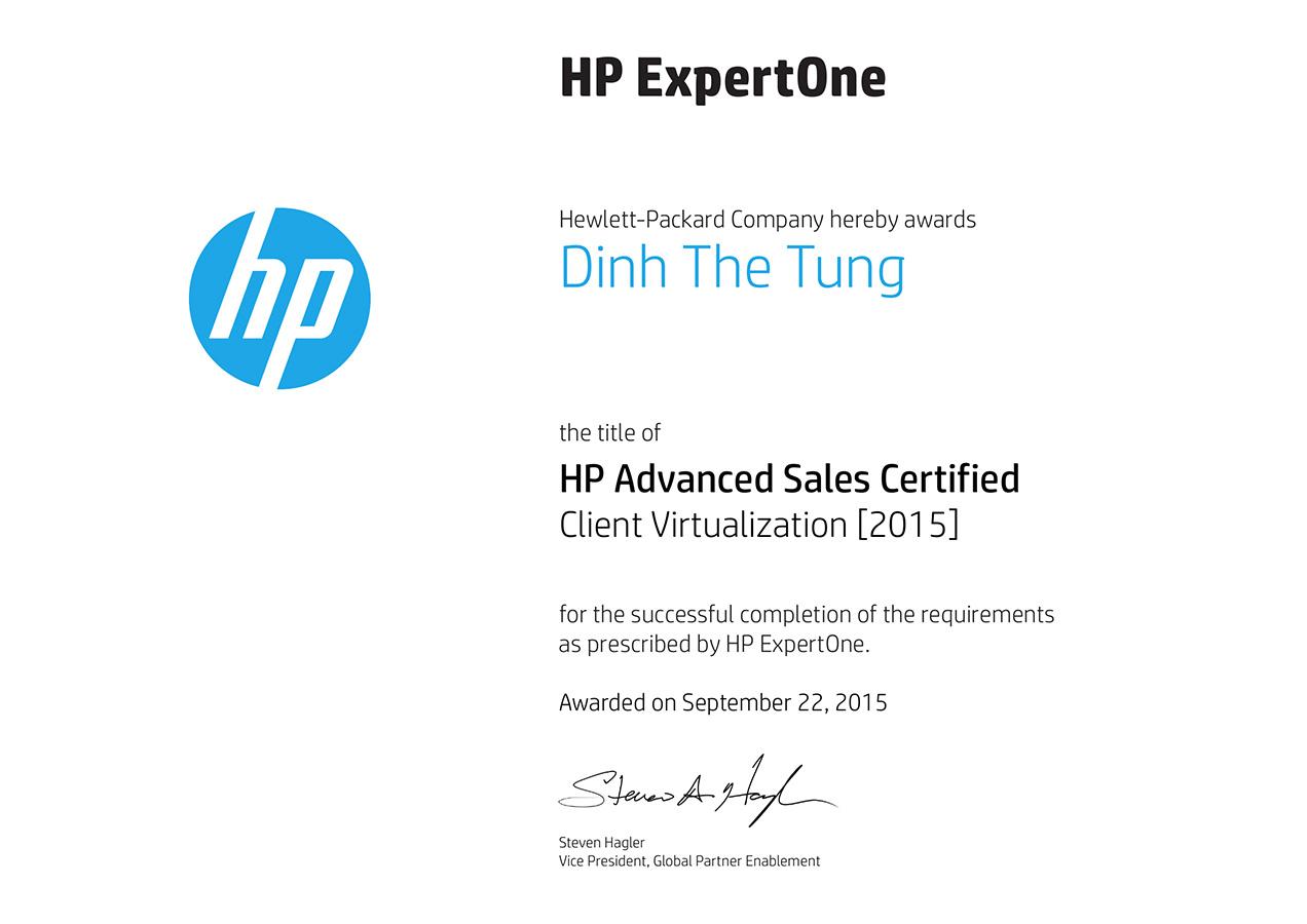 Tung Sale Client Virtualization Certification