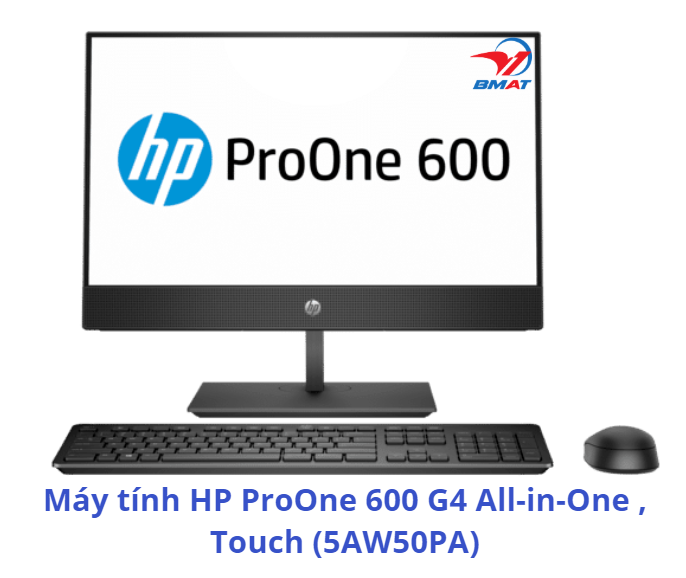 Máy tính HP ProOne 600 G4 All-in-One, Touch (5AW50PA)