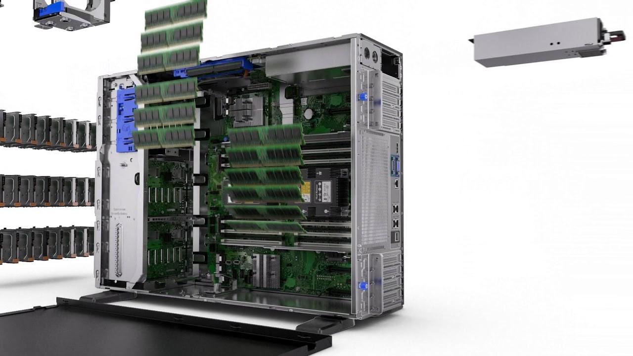 Proliant ML350 Gen10 - Bộ nhớ RAM