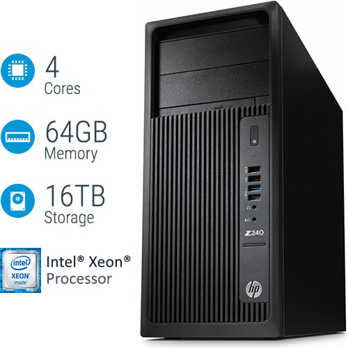 L8T12AV - HP Z240 Tower Workstation