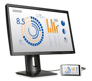 HP Z24s 23.8-inch IPS UHD Display (J2W50A4) - 4K for business and your budget