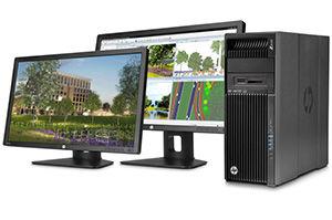 F2D64AV - HP Z640 Workstation - Hỗ trợ 2 CPU mạnh mẽ