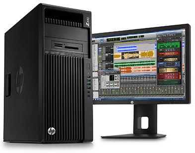 Giải pháp Giải trí và Truyền thông - Count on HP Z Workstations for high-performance audio work