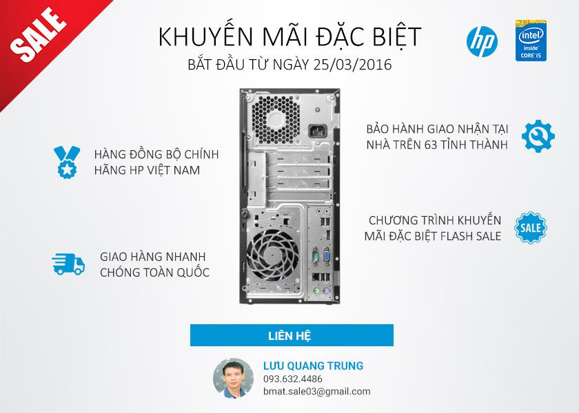 Khuyến mãi HP Prodesk 400 G2