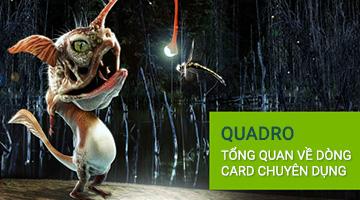 Card đồ họa Quadro - Những điều cơ bản và thử nghiệm thực tế